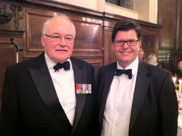 Guy Charrison and General Sir Peter Wall
